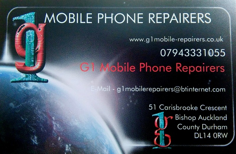 G1 Mobile Repairers advert