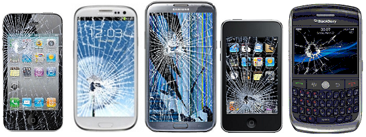 Samsung Mobile Phone Screen Breakages